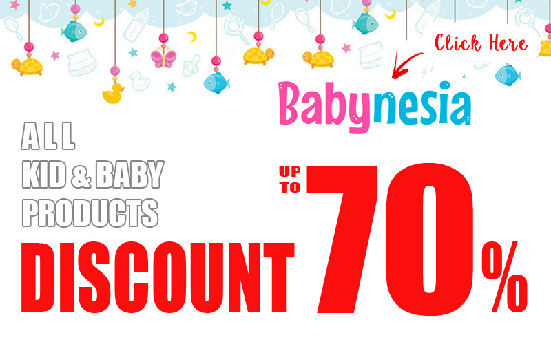 PROMO DISCOUNT 70% for all baby products
